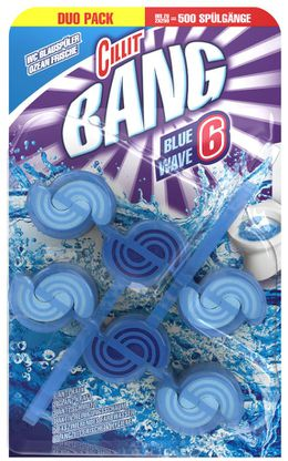 Cillit BANG BLUE WAVE 6 BS Ozean Frische DUO PACK 2x39g