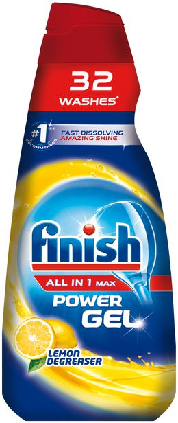 Finish Gel Lemon
