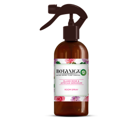 Botanica by Air Wick Spray Island Rose & African Geranium 236ml