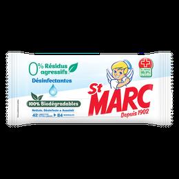 Lingettes Biodégradables 0% Résidus Agressifs Désinfectantes ¹ ²