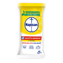 Salviette Igienizzanti Limone
