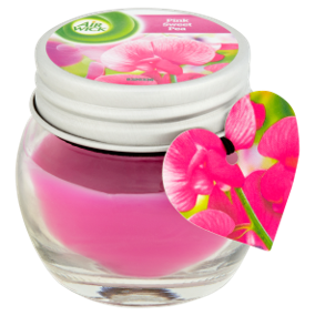 Small Jar Candle Pink Sweet Pea