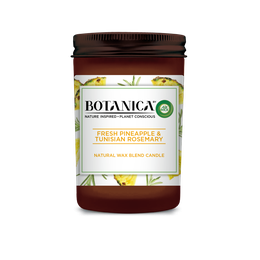 Botanica by Air Wick Candle Fresh Pineapple & Tunisian Rosemary 205g