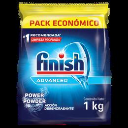Detergente en Polvo para Lavavajillas Automático DP Finish 1 Kg