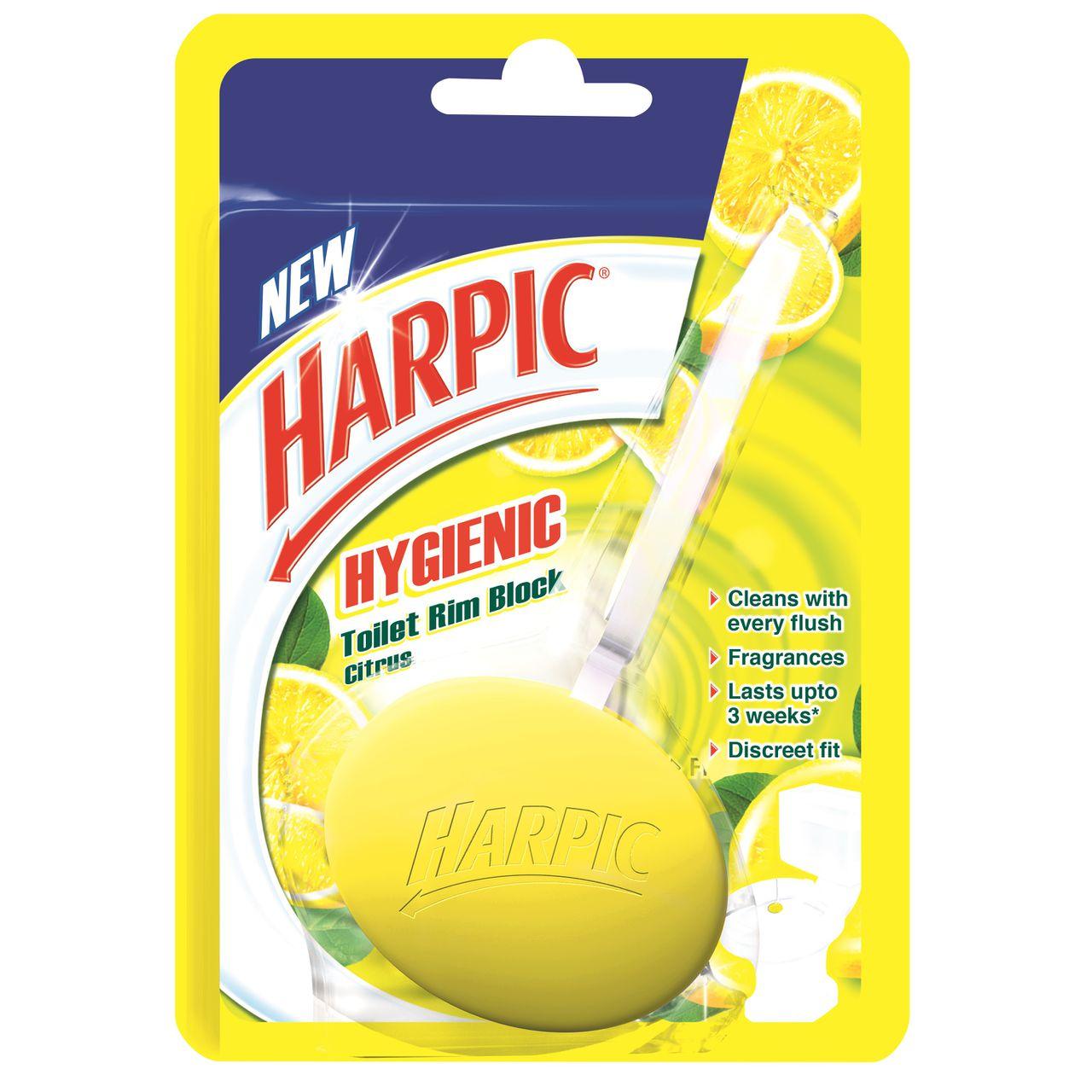 Toilet Rim Blocks Harpic Hygienic