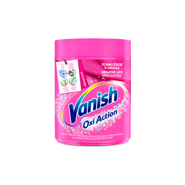 Proszek Vanish Oxi Action Pink odplamiacz do koloru