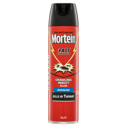 Mortein Fast Knockdown Crawling Insect Killer Odourless 350g