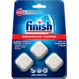 FINISH In Wash Dishwasher Cleaner