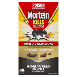 MORTEIN RAT KILL THROWPACKS
