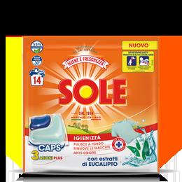 SOLE CAPS 3 AZIONI IGIENE E FRESCHEZZA