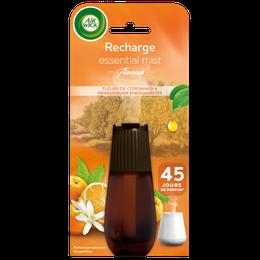 Air Wick Recharge Essential Mist Fleur de Citronnier et Mandarinier Energisant ¹