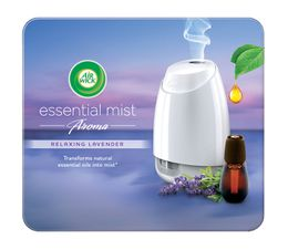 Air Wick Air Freshener Essential Mist Aromatherapy Lavender Kit 20ml