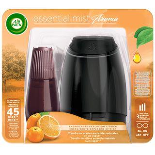 Air Wick Essential Mist: aparato y recambio energizante explosion citrica