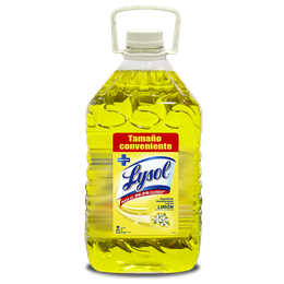 Lysol Superficies Desinfectante Limón 5 Lts