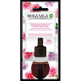 Botanica Recharge electrique Geranium oriental et Rose des iles