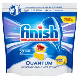 FINISH Quantum Dishwasher Tabs Lemon