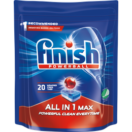 Finish Powerball All In One Max 20 st.