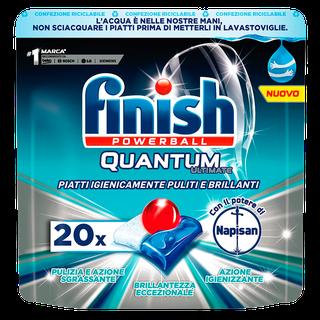 Finish Quantum Ultimate con il potere di Napisan 20