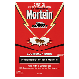 MORTEIN  KILL & PROTECT COCKROACH BAITS