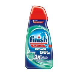 Finish Power Gel ALL IN 1 MAX 3X Poteri Pulenti sui residui incrostati da 24h