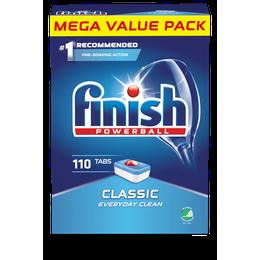 Finish Powerball Classic Maskindiskmedel 110 st.