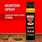 Mortein Crawling Insect Killer 550ML Aerosol