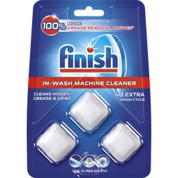 Finish In-Wash Machine Cleaner