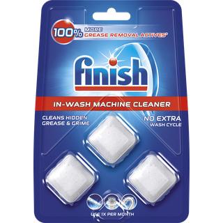 Finish In Wash Machine Cleaner 3T