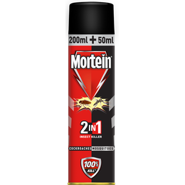 Mortein 2in1 insect killer spray 250ml