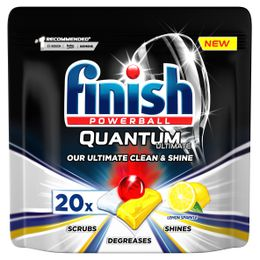 FINISH Quantum Ultimate Dishwasher Tabs Lemon