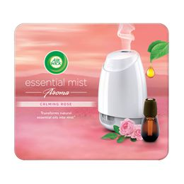 Air Wick Air Freshener Essential Mist Aromatherapy Calming Rose Kit 20ml