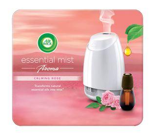 Air Wick Air Freshener Essential Mist Aromatherapy Calming Rose Kit 20ml