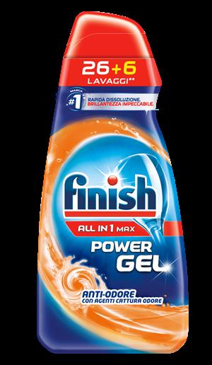 Finish Power Gel ALL IN 1 MAX Anti-Odore