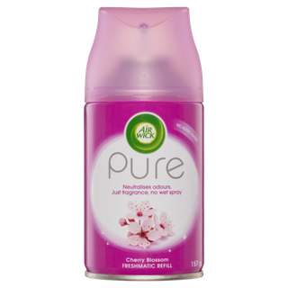 Air Wick Pure Freshmatic Automatic Air Freshener Refill Cherry Blossom
