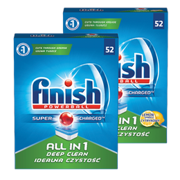 Finish All in 1 tabete za strojno pomivanje posode