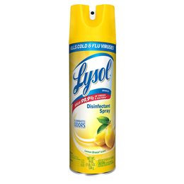 Lysol aerosol desinfectante para  superficies - Lemon breeze