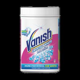 Vanish Oxi Action Crystal White odstraňovač skvrn na bílé prádlo