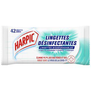 Harpic Lingettes Désinfectantes