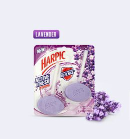 HARPIC ACTIVE FRESH HYGIENIC TOILET BLOCKS LAVENDER