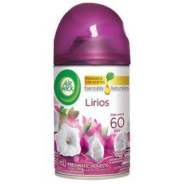 NUEVO AIR WICK® FRESHMATIC® ETHANOL  LIRIO  REPUESTO 250ML