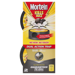 Mortein No View No Touch Dual Action Mouse Trap