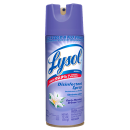 Lysol® Aerosol Desinfectante de Superficies y Ambiental - Early Morning