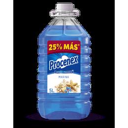 Limpiador Líquido Pisos Marina Procenex 5 lts