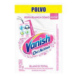 Vanish 30gr Blanco