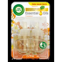 Air Wick Essential Oils Plug In Frangipani Twin Refill