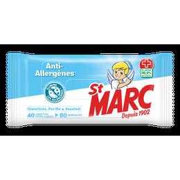 Lingettes Anti-Allergènes  ¹ ²