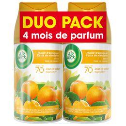 Air Wick Recharge Freshmatic Duo Pack Plaisir d'agrumes et zeste de Mandarine ¹