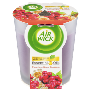 Air Wick Essential Oil Candle Berry Blossom