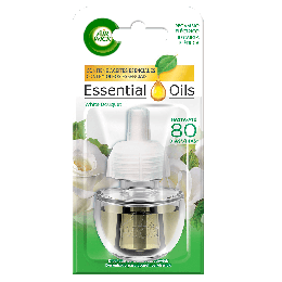 Air Wick Ambientador Eléctrico -Essential Oils White Bouquet