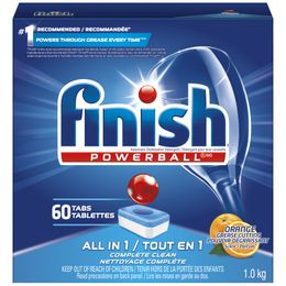 Finish® All In 1™ Tabs Orange Scent